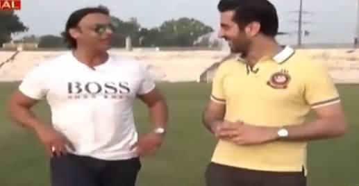Aitraaz Hai (Shoaib Akhtar Exclusive Interview) - 22nd August 2018