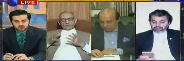 Aitraaz Hai (Why PTV Didn't Air PM's Press Conference?) - 18th May 2018