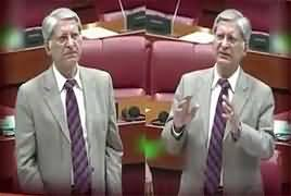 Aitzaz Ahsan Farewell Speech In Senate – 8th March 2018