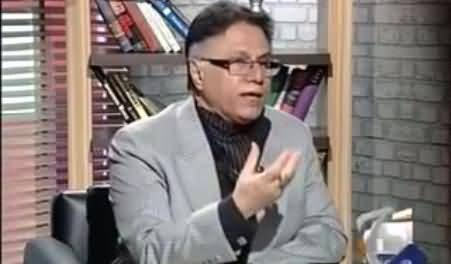 All Pakistani Leaders Are Cheque Book Leaders Except Altaf Hussain - Hassan Nisar