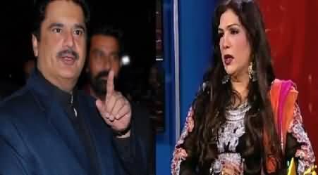 Almas Bobby Response on Nabeel Gabol's Allegations About Her Scandal
