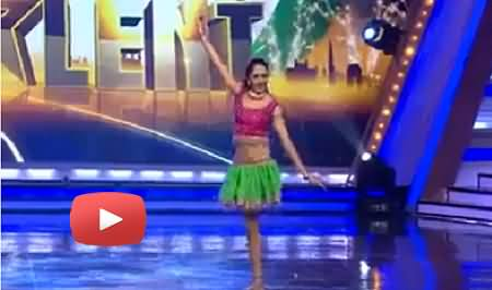 Amazing Dance Performance of a One Legged Girl in India Got Talent Show
