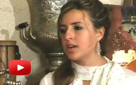 American Singer Jennifer Grout Reciting Surah Fatiha in Beautiful Voice After Converting to Islam