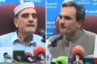 Amir Haider Hoti vs Azam Hoti - Amir Haider Hoti Stands against his father in the support of Asfand Yar Wali