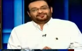 Amir Liaquat answers on meeting Mir Shakeel graciously despite allegations