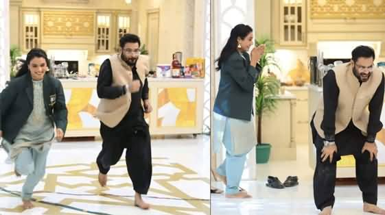 Amir Liaquat Badly Fell Down During Ramzan Transmission