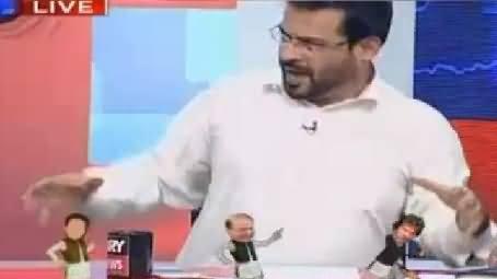 Amir Liaquat Live Show Mein Imran Khan Ki Naqal Utaarte Huwey