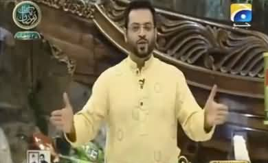 Amir Liaquat Took U-Turn, After Bashing Army Yesterday, Now He Is Praising Pak Army