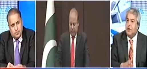 Amir Mateen & Rauf Klasra Analysis on PM Khaqan Abbasi Statement to Remove Article 62, 63