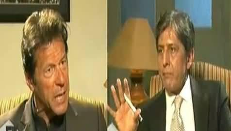 Anchor Aijaz Haider Irritates Imran Khan with His Stupid and Long Questions
