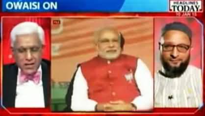 Anchor Asks Asaduddin Owaisi Why He Called Narendra Modi Kutta (Dog)