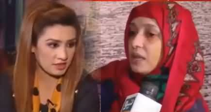 Anchor Asks Tough Questions From Asma Whose Head Was Shaved By Her Husband
