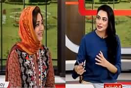 Anchor Asma Sherazi Exclusive Interview on Hum News - 12th May 2018