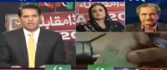 Anchor Shahzad Iqbal Grilled Uzma Bukhari on Her Illogical Objections