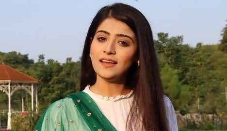 Aniqa Nisar Shows How She Celebrates Independence Day