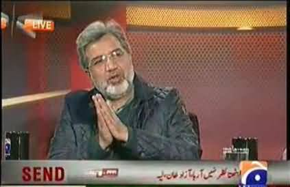 Ansar Abbasi Receives Life Threats, Recently He Criticized Army and Agencies