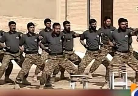 Anti Terrorism Force Express Their Performance In Front of PM & Army Chief in Quetta