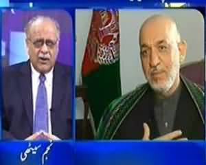 Aapas Ki Baat (Hamid Karzai Pakistan Kya Lene Aaye The...??) - 31st August 2013