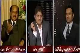 Apna Apna Gareban (Murad Saeed Vs Javed Latif Fight) – 9th March 2017