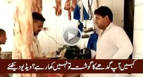 Are You Eating Donkey's Meat? Watch This Shocking Video, Really Shameful