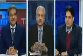 Arif Bhatti Bashing Ayaz Sadiq on His Comments for Media in a College Function
