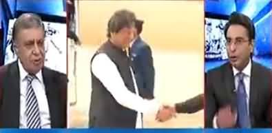 Arif Nizami Critical Comments on Imran Khan's Travel To Saudi Arabia on Private Jet