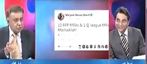 Arif Nizami Recalls Maryam Nawaz Tweets in 2013, When South Punjab Electable Joined PMLN