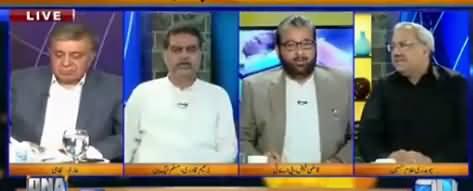 Arif Nizami Took Class of PAT's Qazi Faiz on Tahir ul Qadri's 'Kafan' Statement