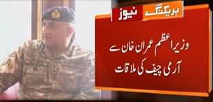 Army Chief General Qamar Javed Bajwa Meets PM Imran Khan