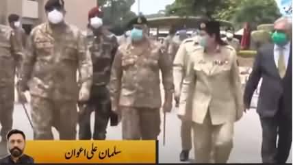 Army Chief General Bajwa Pays Visit to LOC on Eid ul Azha, Praises Troops' Morale