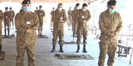 Army Chief General Qamar Javed Bajwa Offers Eid With Troops