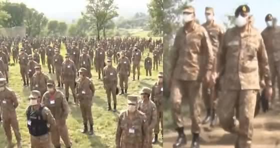 Army Chief General Qamar Javed Bajwa Visits Sialkot And Kotli