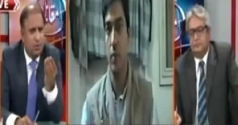 Army Has Decided to Remove Governor Sindh Ishrat-ul-Ebad - Rauf Klasra