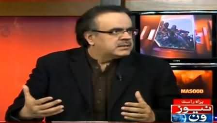 Army Is Much Angry with All Political Leadership Due to Altaf Hussain's Speech - Dr. Shahid Masood