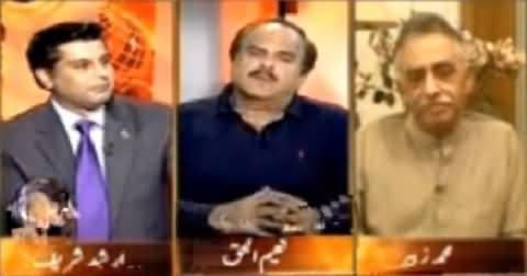 Arshad Sharif Exposed The Nepotism of PMLN Senator Mushahidullah Khan