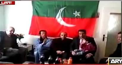 Arshad Sharif Plays Imran Khan's Video Clip Where He is Talking Against Army Generals