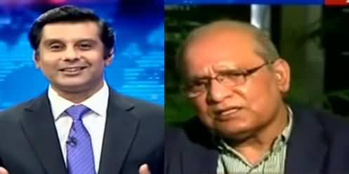 Arshad Sharif Plays Video What Mushahid Ullah Khan Once Said About IB?