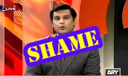 Arshad Sharif's Dirty Propaganda Against PTI After Receiving Lifafa From PMLN