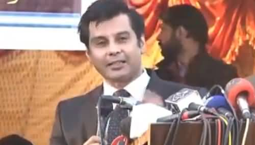 Arshad Sharif Speech To Journalists Bashing Govt & Absar Alam For Banning Media