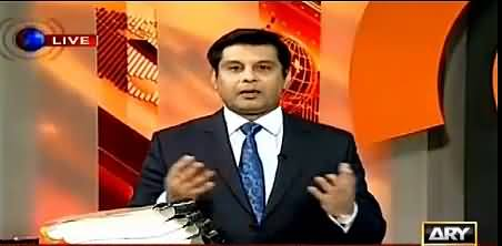 Arshad Sharif Takes a Dig at Nawaz Sharif's Contradictory Statements