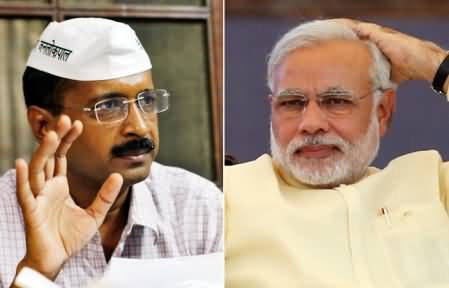 Arvind Kejriwal Announced to Stage Sit-in Against Narendra Modi with Anna Hazare
