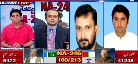 ARY News (NA-246 Special Transmission) 10PM To 11PM - 23rd April 2015