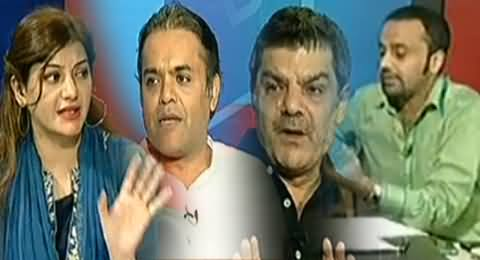 ARY Special Transmission on Azadi & Inqilab March (Special Talk with Imran Khan and Tahir ul Qadri) - 14th August 2014