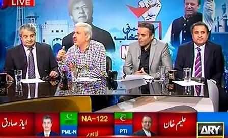 ARY Special Transmission On NA – 122 By-Election (Part-2) – 10th October 2015