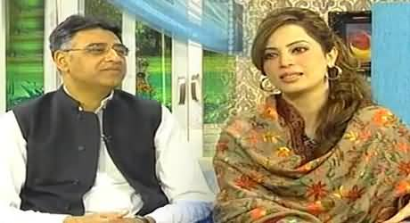 Asad Umar Exclusive Interview with Farah Khan in Morning with Farah - 23rd January 2014
