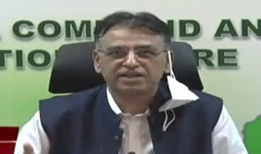 Asad Umar Press Conference, Gives Good News About Coronavirus Cases
