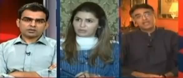 Asad Umar's Befitting Reply to Ishaq Dar For Doing Personal Attacks on Imran Khan