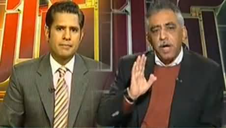 Asad Umar's Brother Zubair Umar Gets Angry on Anchor in Live Show