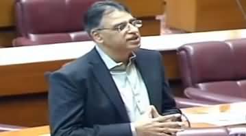 Asad Umar Thanks Opposition For Withdrawing No-Trust Motion Against Qasim Suri
