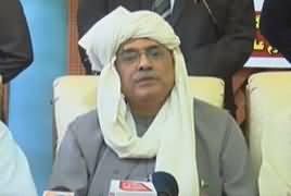 Asif Ali Zardari Press Conference In Tando Allahyar - 4th December 2018